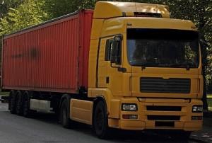 Kamion na ceste